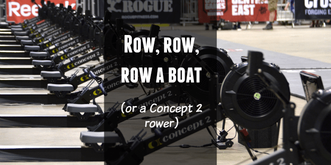 Concept 2 Blog Post - how to use it