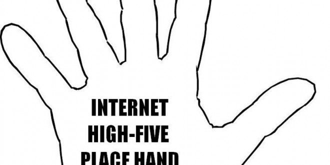 Virtual High-5 for everyone! (come on, you know you want it)