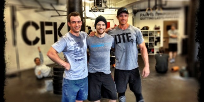 CrossFit Kitsilano WOD with friends