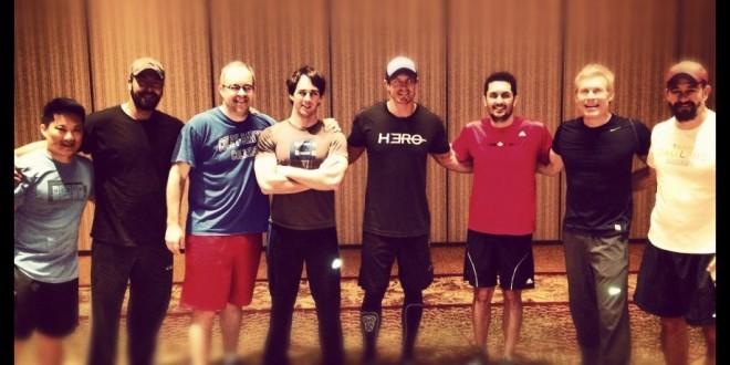 The Dads Post CrossFit WOD a la Tabata