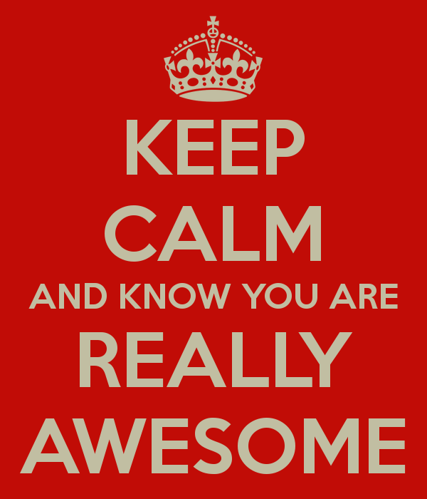 You Are Awesome: All About What It Means To Be AWESOME (FYI