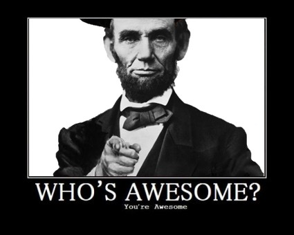 [Image: lincoln_awesome.jpg]