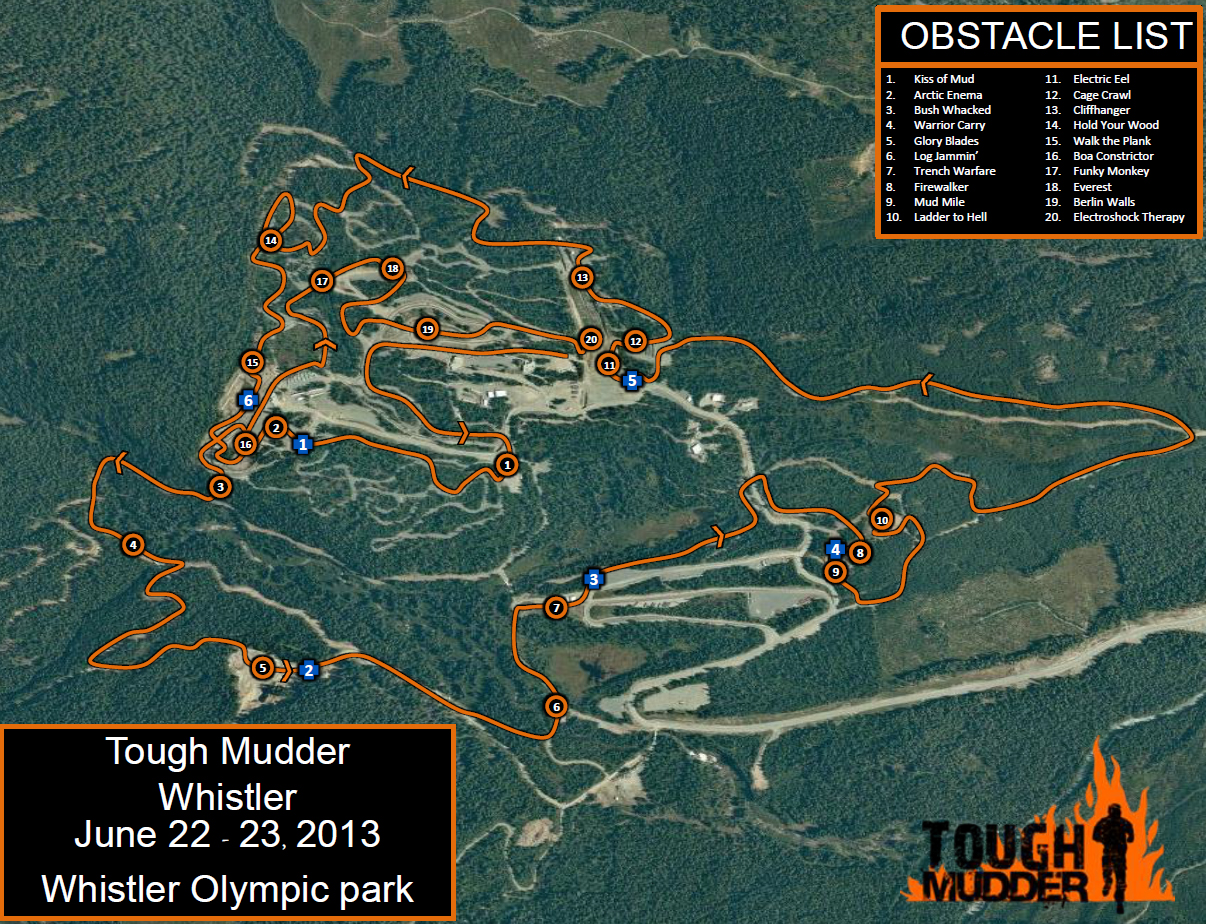 Tough Mudder Whistler Obstacles Announced, Hoorah!