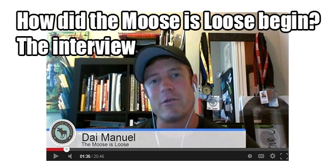 How did the Moose is Loose blog begin? [Video Interview]