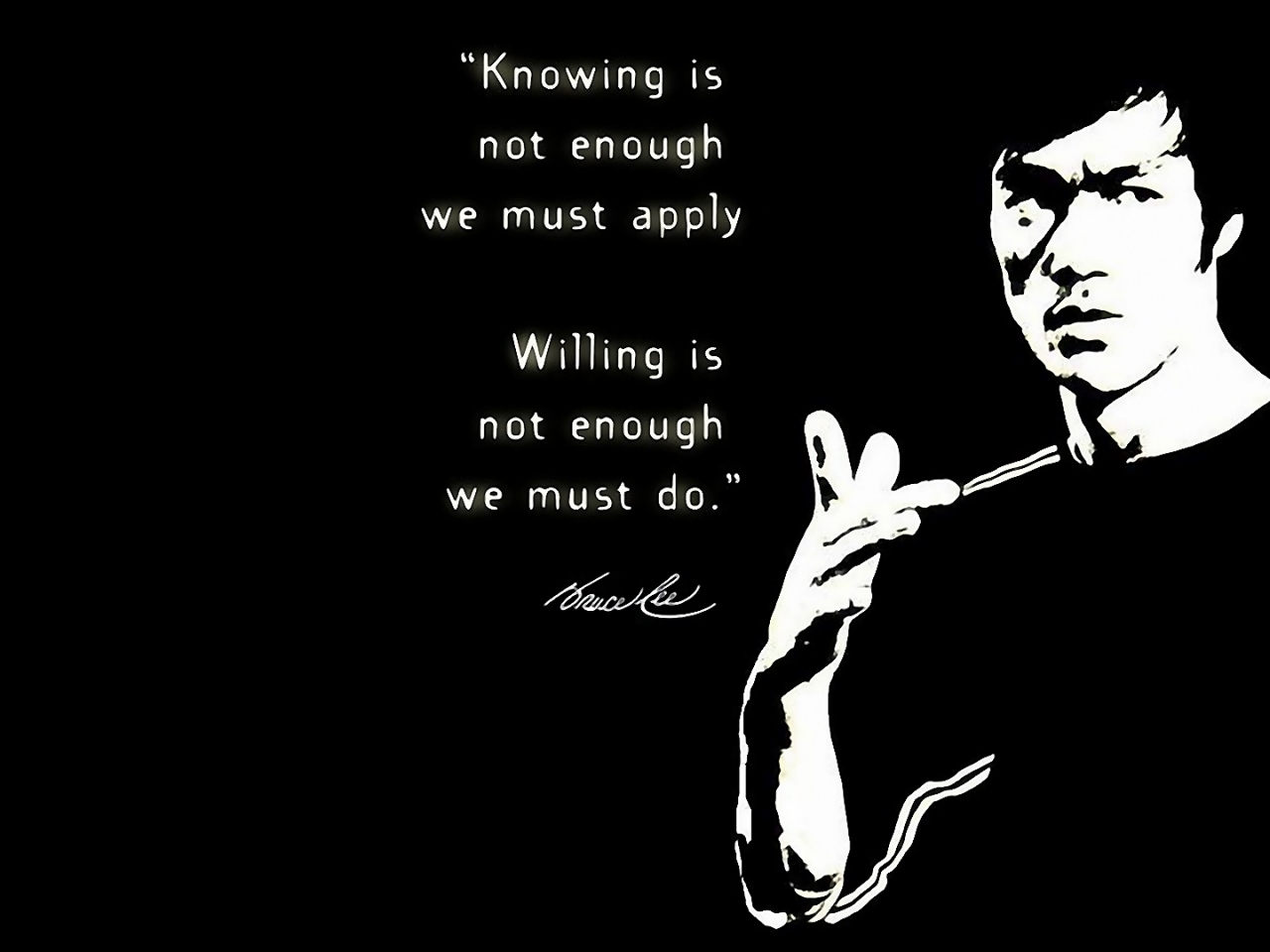 Bruce Lee Quotes HD Wallpaper
