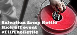 Salvation Army Kettle Kick off event #FillTheKettle
