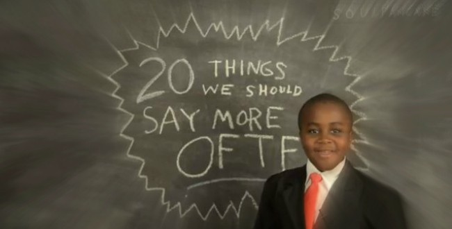 The Coolest kid on YouTube - the Kid President