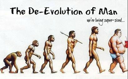 De Evolution of man