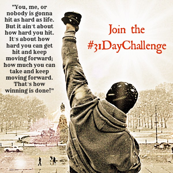 Make a commitment to improve your health... 31 days of workouts, emailed daily. Hoorah!