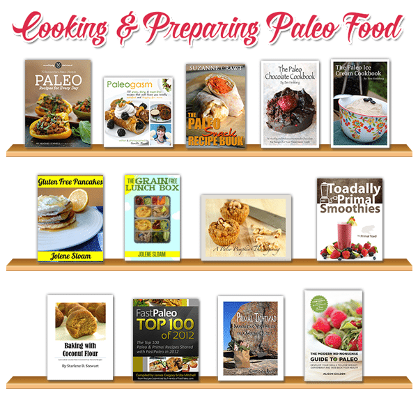 cooking and preparing paleo