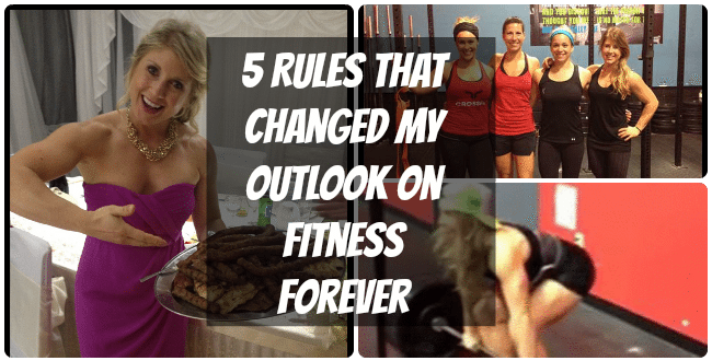 5 Rules That Changed My Outlook On Fitness Forever