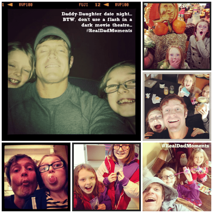 Just a few of my #realdadmoments
