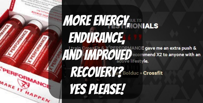 More energy, endurance, and improved recovery? YES please!