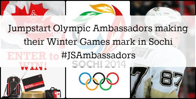 Jumpstart Olympic Ambassadors making their Winter Games mark in Sochi #JSAmbassadors