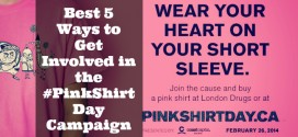 Best 5 Ways to Get Involved in the #PinkShirtDay Campaign