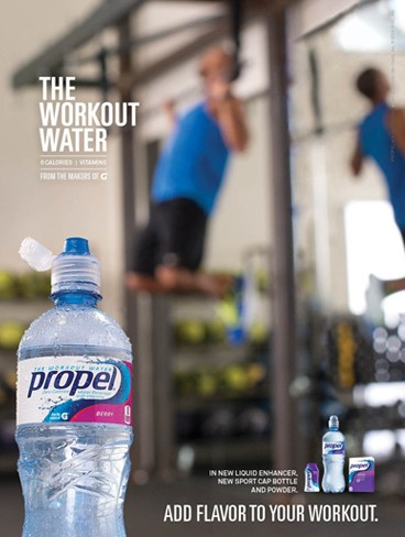 Just one of the cool branding images from last year's Propel campaign