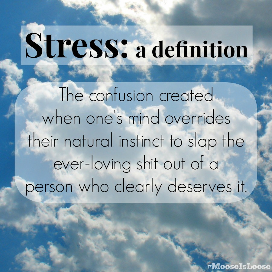 The definition of Stress