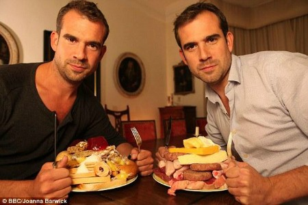 The two doctors featured in the programme are identical twins and each was assigned a special diet: either a low-fat diet or a low-sugar diet according to a nutritional plan devised by Amanda Ursell.