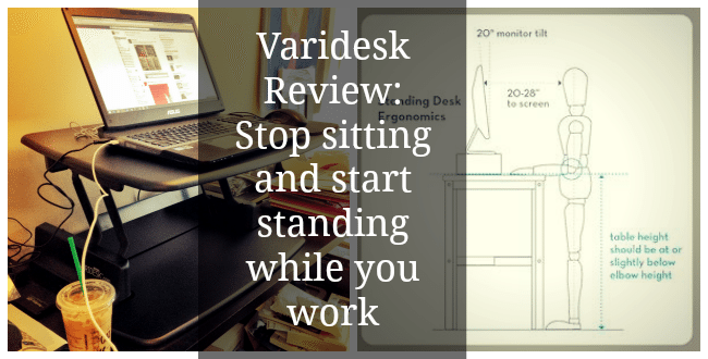 Varidesk Review Stop Sitting And Start Standing While You