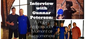 A Propel Ambassador Moment of Awesomeness: Interview with Gunnar Peterson