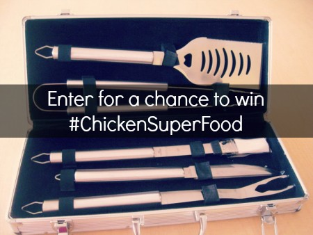Enter #ChickenSuperFood Twitter Chat for a chance to win