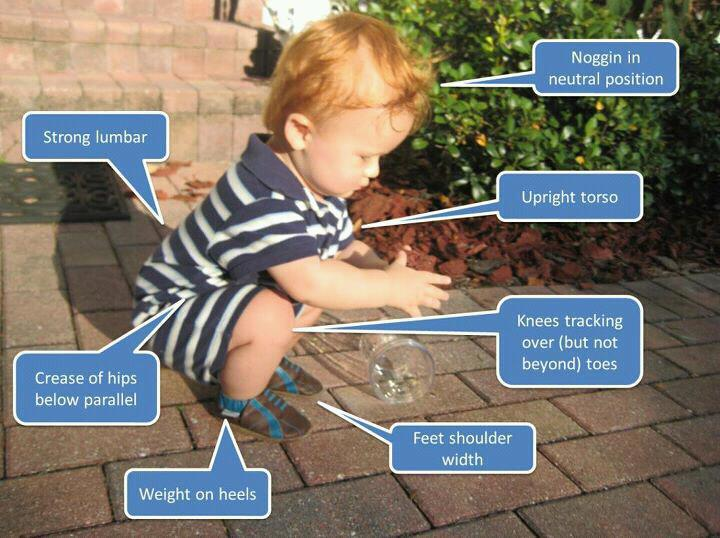 the perfect squat