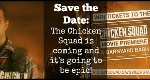 Save the date: The Chicken Squad is coming and it's going to be epic!