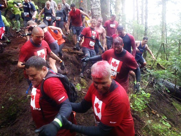 Get off the road, get on the trail - tough mudder style