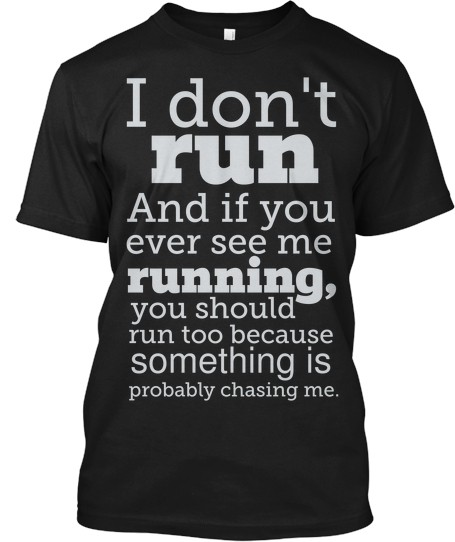 What did the CrossFitter say to the Marathon runner?