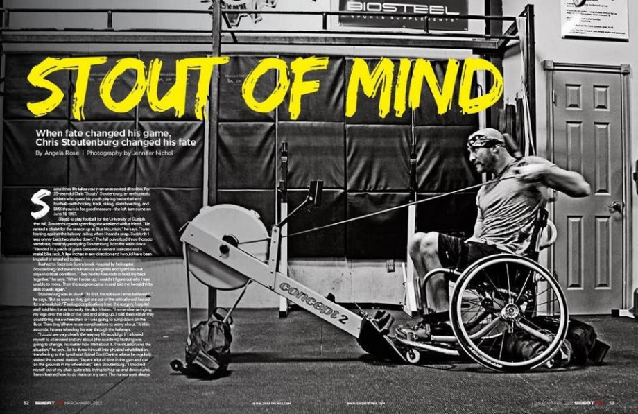 Stout of Mind Sweat RX Magazine article