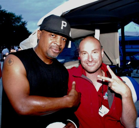 Stouty and chuck D