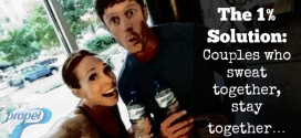 The 1% Solution: Couples who sweat together, stay together…