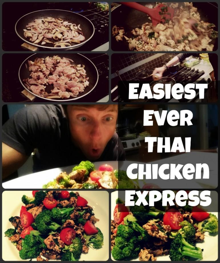Easiest Ever Thai Chicken Express Recipe from Chicken.ca
