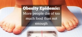 Obesity Epidemic: More people die of too much food than not enough