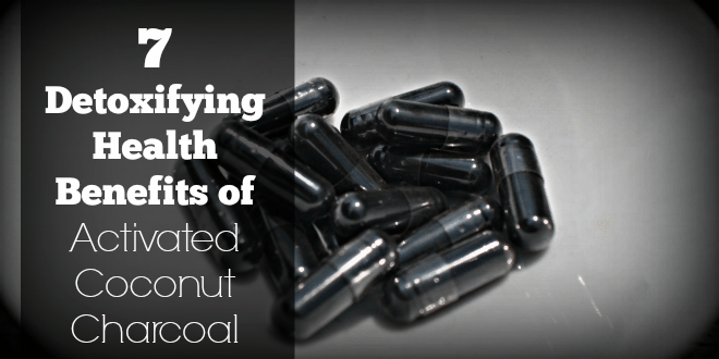 7 Detoxifying Health Benefits of Activated Coconut Charcoal