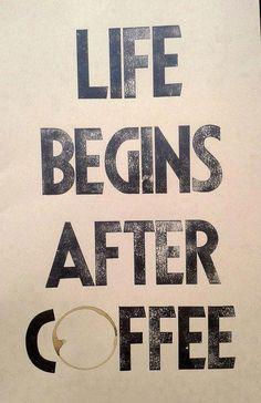 life begins after coffee #Kraftmeacoffee