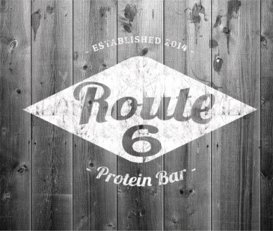 Route 6 Protein Bar logo