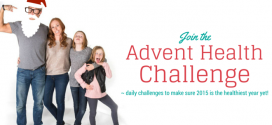 Join the Advent Health Challenge