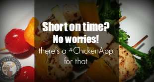 Short on time, no worries! There's a #ChickenApp for that #ChickenDotCa