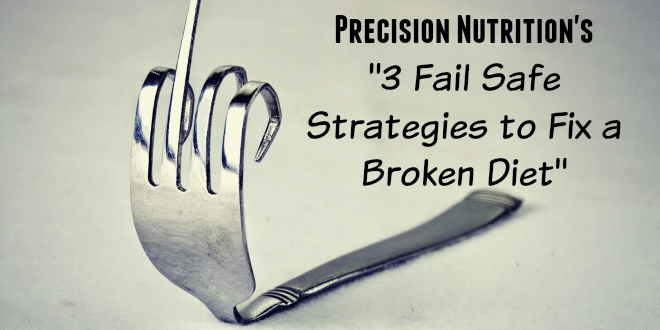 Fix a Broken diet care of precision nutrition