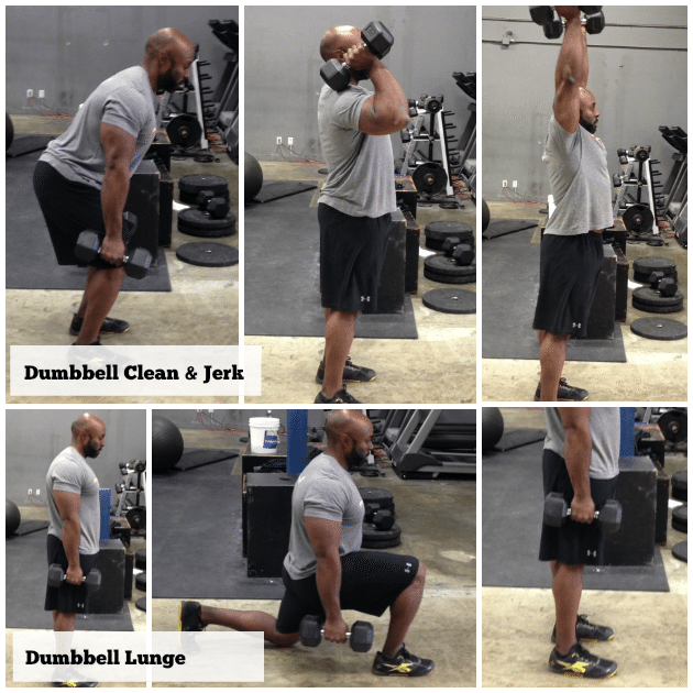Issac Payne Dumbbell Workout 5