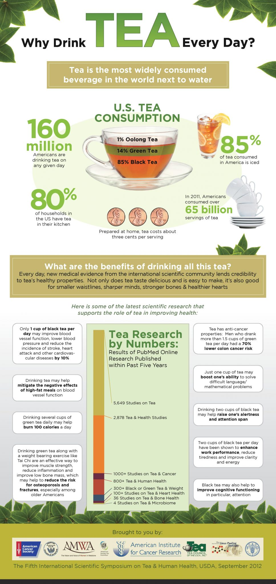 Tea Council Infographic - all you want to know about tea