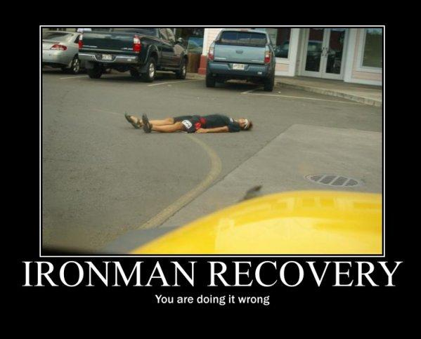 Ironman recovery - you are doing it all wrong