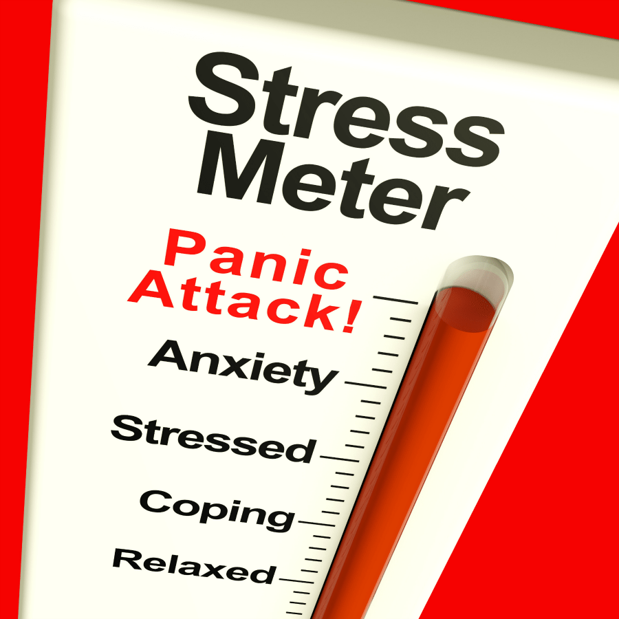 Stress Meter: What are some symptoms of stress?