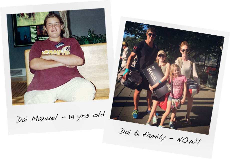 Dai Manuel - Before and After - From obese to Healthy
