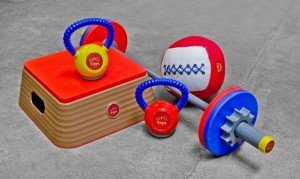 Workout Equipment for kids by WOD Toys are a great option