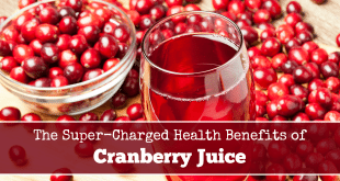 Super Charged Health Benefits of Cranberry Juice #YourOasis