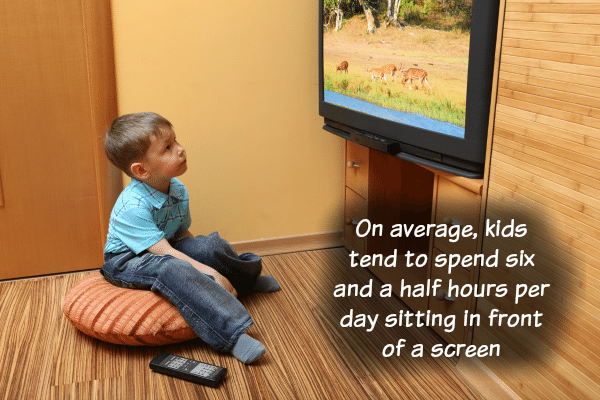 Kids Watch 6 and a Half Hours a Day of TV