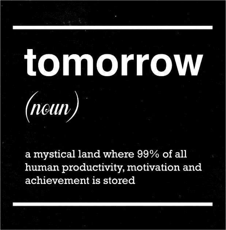 Tomorrow is a mystical land
