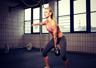 1 Arm Kettlebell Swing